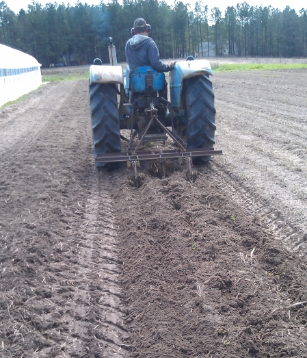 tractor, soil