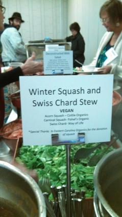 winter squash and swiss chard stew
